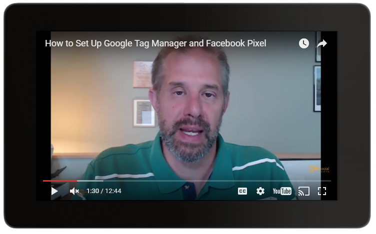 google tag manager and facebook pixel