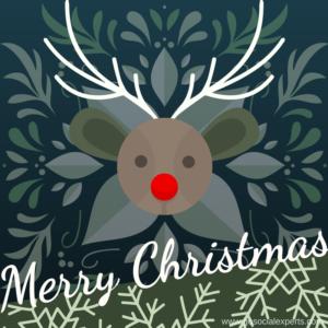 social media christmas post