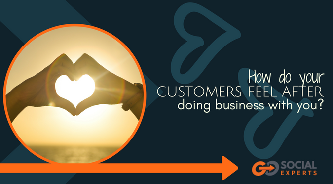 How Do Your Customers Feel After They Do Business With You?