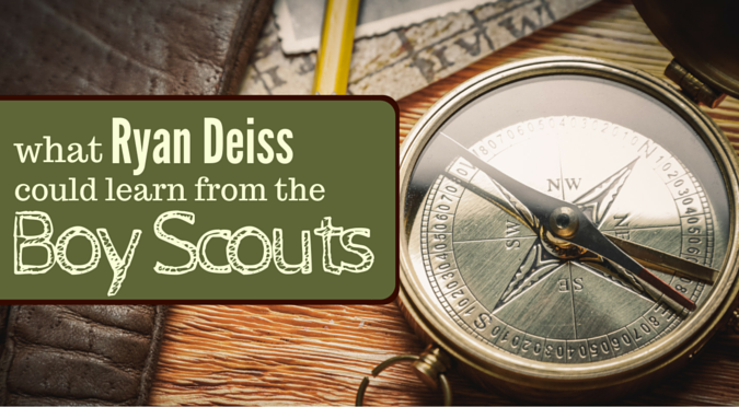 What Ryan Deiss Could Learn From the Boy Scouts