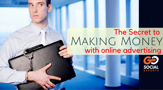 the secret to making money using online advertising