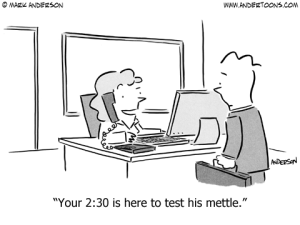 Test your mettle